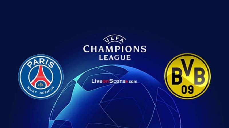 Paris Saint Germain 2 0 Borussia Dortmund