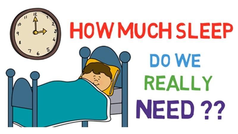 How Much Sleep Do we really need??